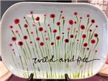 'Wild and Free' Platter Painting Class