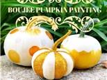 Boujee Pumpkin Painting
