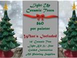Christmas Tree Paint N Sip at Valenzano Winery - November 15th SOLD OUT!