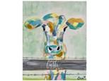 Colorful Calf Paint Class