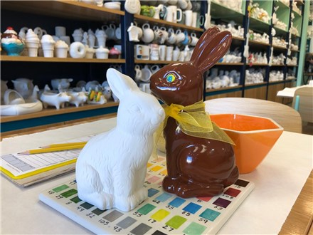 Chocolate Bunny!  - March, 20th