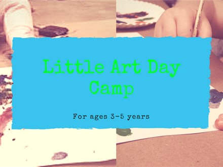 Little Art Day Camp