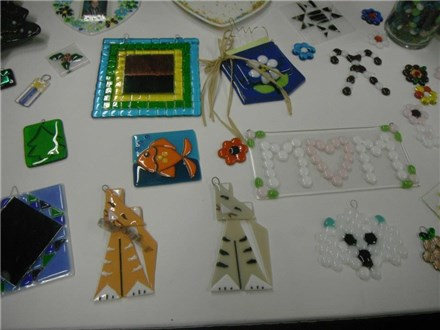 Adult Fused Glass Making Private Event