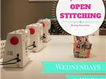 Open Stitching at HootnHaller Studio