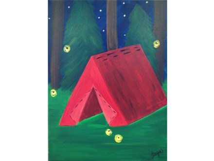 Summer Camp - Ages 8+  (12x16 canvas)