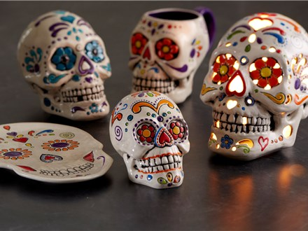 Family Sugar Skulls Workshop - October 14 12pm-2pm