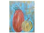 Expressionist Pumpkins