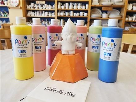 "Pottery Painting To Go - ""Take, Make, & Keep"" Troll Kit"