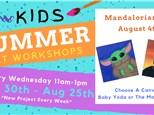 Kids Art Workshop - Mandalorian Day 8/4