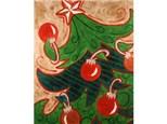Canvas & Wine Night!  Jingle Tree!  12/12/16