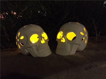Skull Votive Paint Event - Sunday, October 21