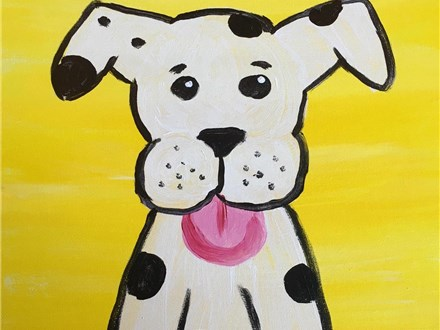 Kids Pupp Painting After School Enrichment Class
