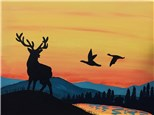 Mountain Morning Canvas Paint & Sip Event, Friday, Sep. 22, 6PM