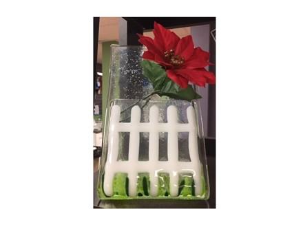 Glass Class: Standing Flower Vase