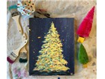 Christmas Tree Paint Class at FALL LINE BREWING (Macon)