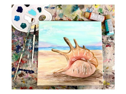 Seashell Virtual Paint Class