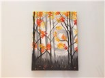 Autumn Dusk (adult) Canvas Class