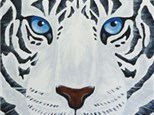 "Canvas & Coffee ""White Tiger"""