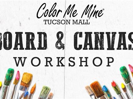Board & Canvas Workshop - Nov 13th & 27th @ 6pm