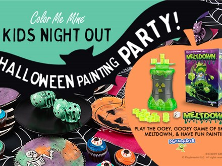 Kids Night Out Halloween Painting Party - October 11