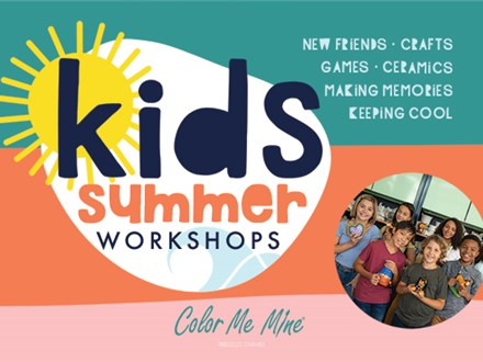 SUMMER CAMP: June 1-5 - COLOR ME GROOVY