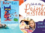 Paint Me A Story: Pete the Cat - September 14th