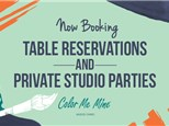Daily Reservations @ Color Me Mine - Fort McMurray