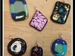 Fused Glass Pendants at Crazy Glaze Ceramic Studio
