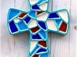 Glass Fusion Cross