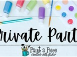 Private Party at Paint a Piece