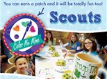 Scout Troop Party at Color Me Mine - Schaumburg, IL