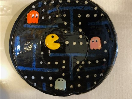 Family Clay - Pac-Man Dish - Afternoon Session - 03.20.19