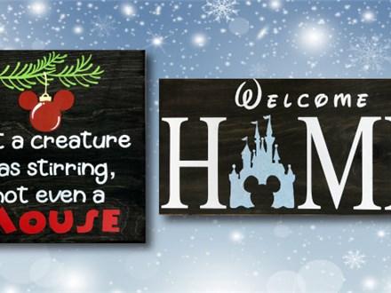 Disney Wood Signs - Nov. 30th