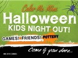 Halloween Kids Night Out - October 23