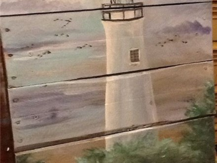 Light House Pallet Paint Night - 8/20