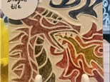 Art Club: Dragon Tile- Week 3
