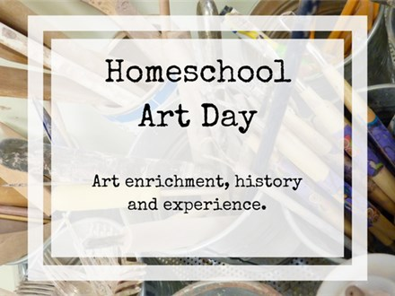 Homeschool Art Day