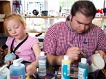 Dads & Donuts Pottery Painting Event