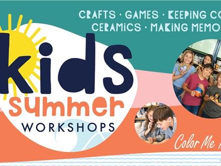 Summer Kids Workshop: Food Truck Fun - July 20 & 21, 2021