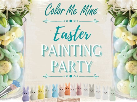 Family Easter Painting Party