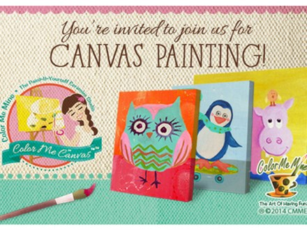Kid's Canvas Painting Party