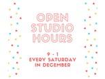 Open Studio - DIY Saturday Mornings in December