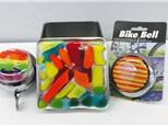 Bike bell, treasure box, sun catchers and more!