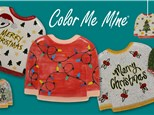 Adult's Night Out - Ugly Sweater Plate + Ornament - November 30th