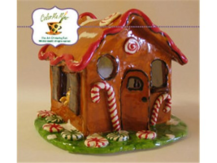 Clay Ginger Bread House - November 2nd