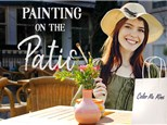 Paint on the Patio with Color Me Mine!