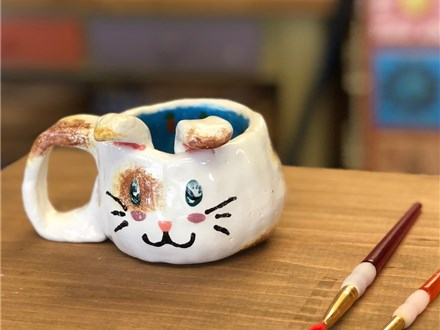 Clay Hand Building - Bunny Mug - Morning Session - 04.05.19