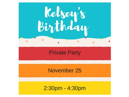 Kelsey's Birthday - Private Paint & Sip - Nov 25