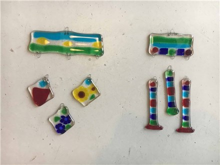Glass Fusion Windchimes Homeschool Art Social! Friday, October 12th, ages 6-12