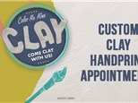 Clay Handprint Appointment